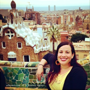 Me at Park Guell