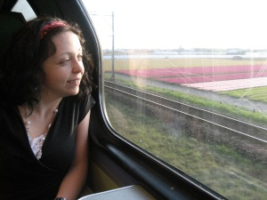 Train ride back to Amsterdam