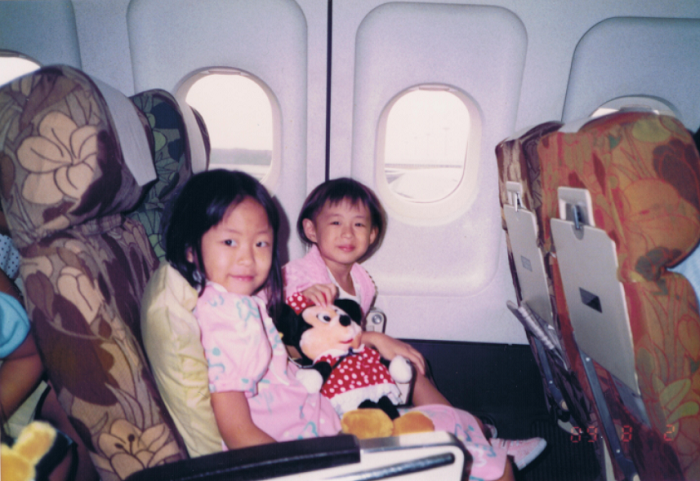 Wan Phing Lim's flight to Singapore as a child