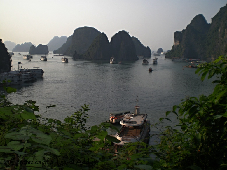 View of Halong Bay from Sung Sot Cave