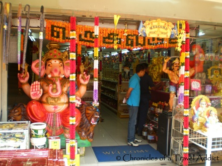 Store front in Little India, Kuala Lumpur