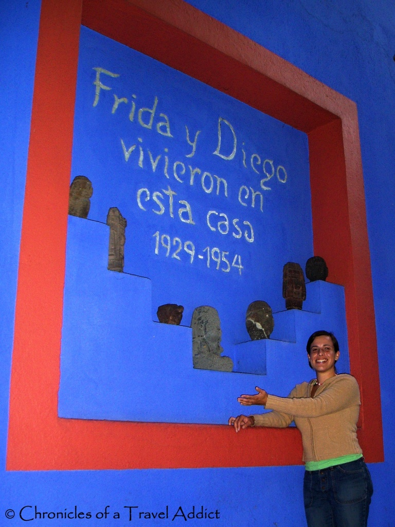 La Casa Azul in Coyoacan, Mexico: Filled with tragic, artistic, emotion-filled history.