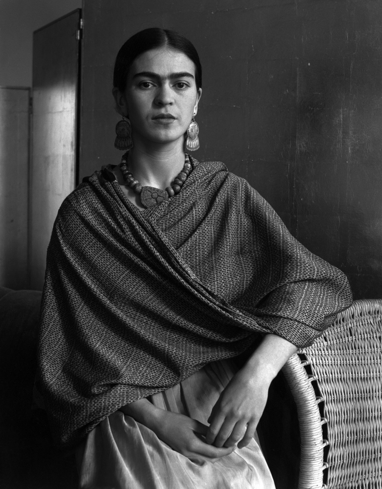 One of my favorite photographs of Frida Kahlo, by I. Cunningham, 1931