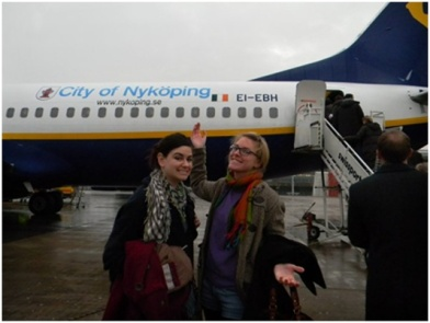 My friend Anne and I quickly learn that airplanes become a source of adventure and liberation. The world was our oyster and RyanAir our vehicle.