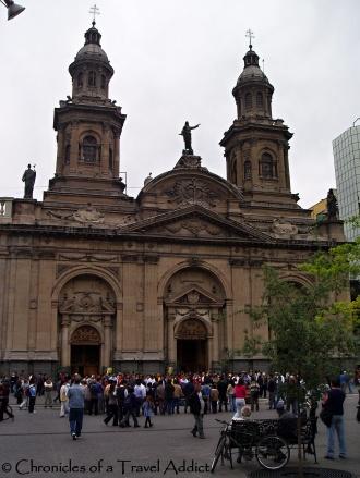 Metropolitana Cathedral- Santiago, Chile