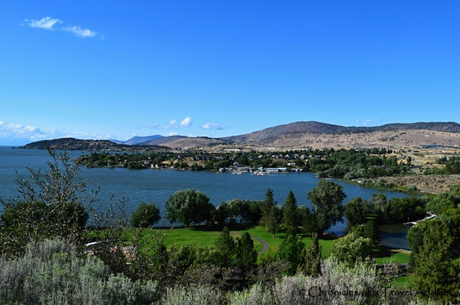 View of Klamath River from Moore Park