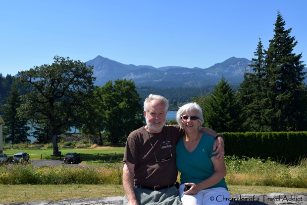 My parents at Cascade Lakes, part of the Columbia River