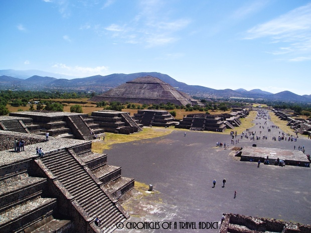 Teotihuacan, just a short drive from Mexico City