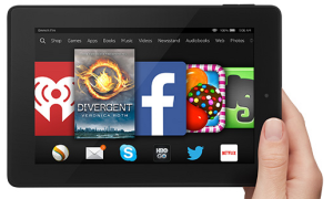 Kindle Fire HD7  Photo via thriftynorthwestmom.com