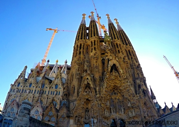 La Sagrada Familia is just a 20 minute walk from Gracia City Hostel.