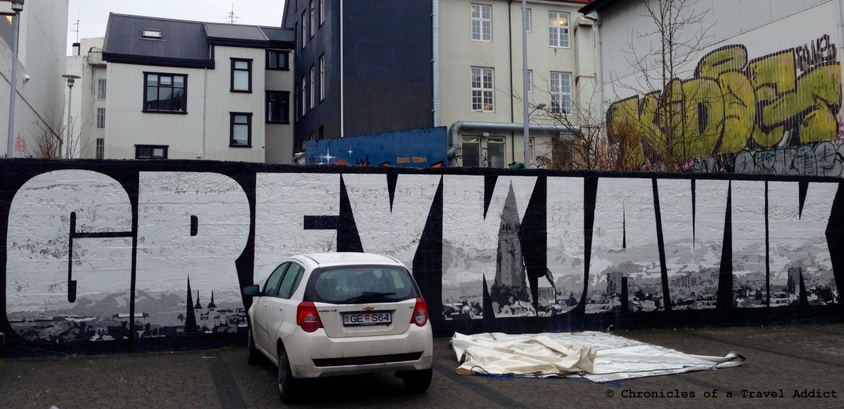 Reykjavik's Ubiquitous Street Art